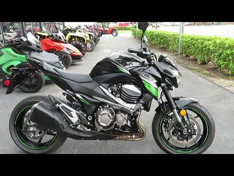 2016 Kawasaki Z800 ABS in Sanford, Florida - Video 1