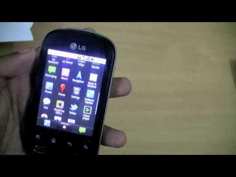 Review: LG Optimus Me P350 - Low Cost Android Device (Pecan)