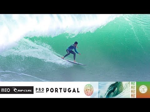 Ferreira vs. Wilkinson vs. Lau - Round Four, Heat 1 - MEO Rip Curl Pro Portugal 2018