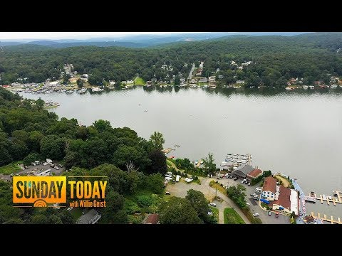 Lake Hopatcong In New Jersey Reveals Signs Of Climate Change | Sunday TODAY