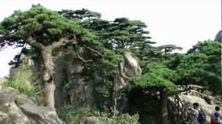 Video : China : Exploring the beautiful HuangShan 黄山 mountain; part 1 (7/8)