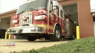 Firefighters plagued by vehicle break-ins