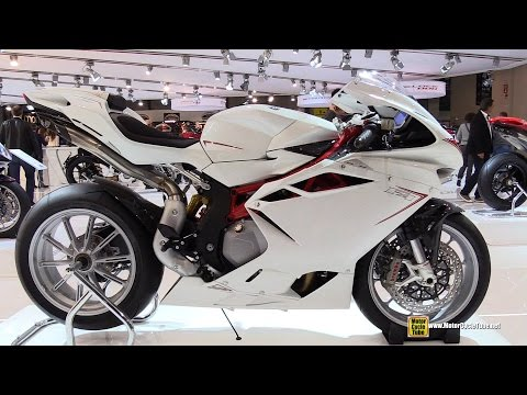 2015 MV Agusta F4 - Walkaround - 2014 EICMA Milan Motorcycle Exhibition