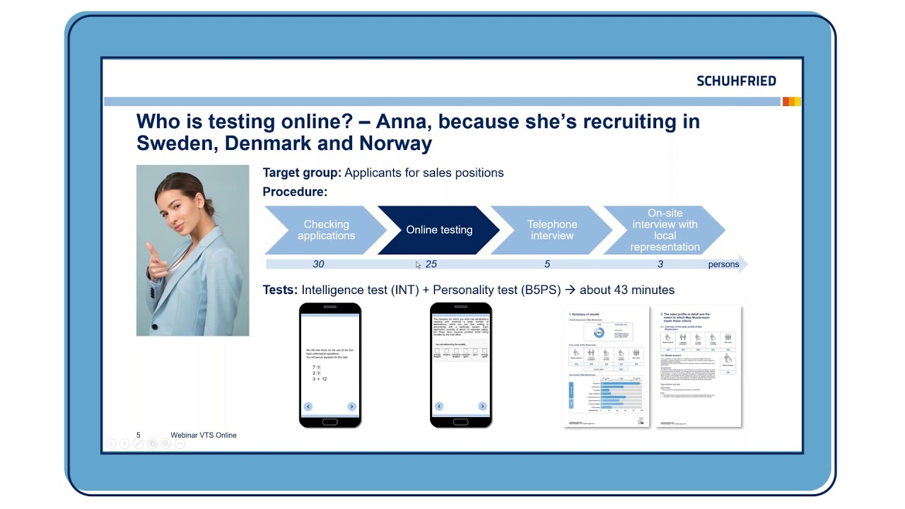 Performing psychological tests online - easily done with the Vienna Test System!