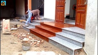 Excellent construction technology, the latest beautiful stone steps