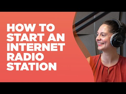 How to Start an Internet Radio Station in 20 minutes!🎙