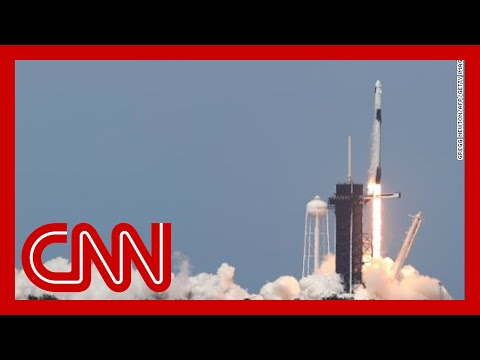 NASA, SpaceX launch astronauts from US soil