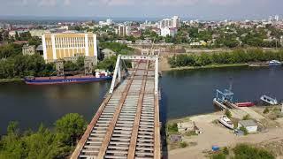 """Самара """"Фрунзенский мост"""" 5 августа 2018 медленно,но верно..."""