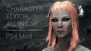 Skyrim Mod I PS4 I Character Creation - All In One Cutomization Pack (Preview)