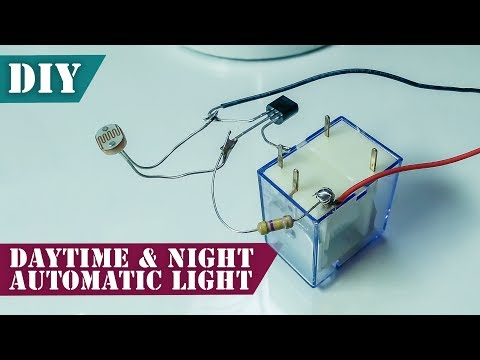 Automatic ON and OFF Light Switch | Simple DIY Project