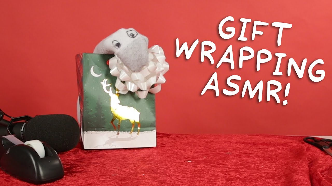 Gift Wrapping ASMR | Puppet ASMR with Todd Socket thumbnail