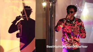 #BMA:  B FACE, Best Hip Hop Artist Of The Year