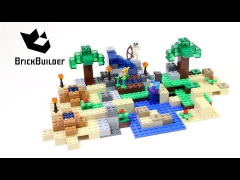 Vidéo LEGO Minecraft 21116 : La boîte de construction