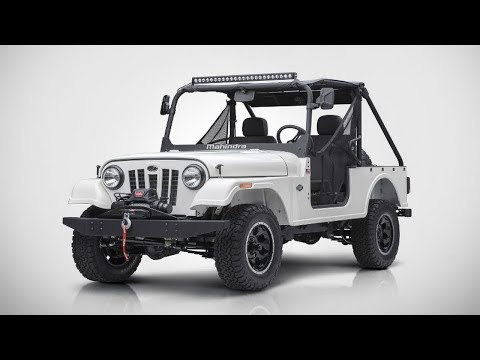 Roxor Is The Name Of The New 4x4 That Indian Automaker Mahindra Will Start Building In Ann Arbor.