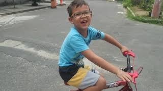 Aprendendo a impinar a bike