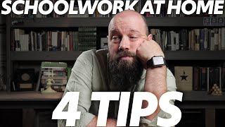 How to Get Your SCHOOLWORK DONE During Quarantine—4 Tips