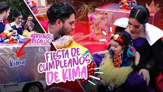 PRIMERA FIESTA DE CUMPLEAÑOS DE KIMA 🥳 Kimberly Loaiza