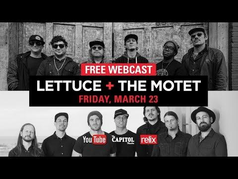 Lettuce + The Motet :: The Capitol Theatre :: 03/23/18 :: Full Show