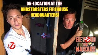 Ghostbusters Firehouse Headquarters On-Location - BTM: The Web-Series (Ep. 69)