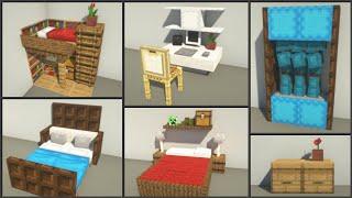 Minecraft: 30+ Bedroom Design Ideas