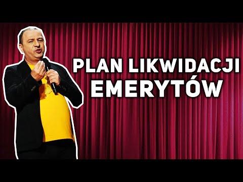 Grzegorz Halama Stand-up - Plan likwidacji emerytów
