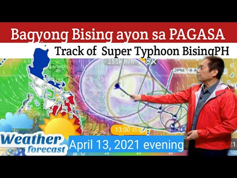 WEATHER UPDATE TODAY April 13, 2021| PAGASA WEATHER FORECAST|LOW PRESSURE AREA |  BAGYONG BISING