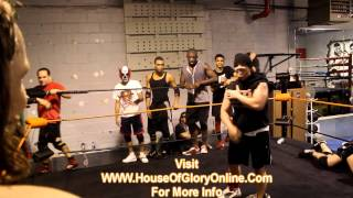 Just Another Day At The House Of Glory - Training With Amazing Red