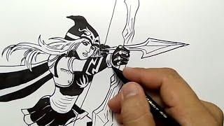 Menggambar Naruto Dan Mewarnai मफत ऑनलइन
