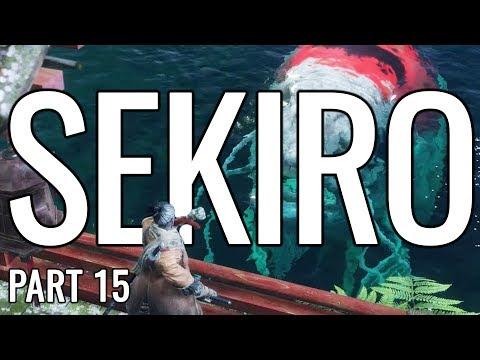 Sekiro: Shadows Die Twice Let's Play Playthrough   Underwater Nightmare - Part 15