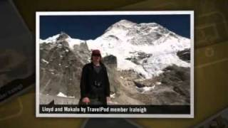 preview picture of video 'Makalu-Barun, part III: The Land of Rock and Ice Lraleigh's photos around Barun Glacier, Nepal'