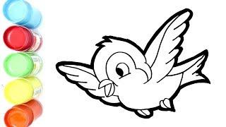 76  Gambar Burung Terbang Untuk Mewarnai  Terbaru Gratis