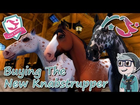 BUYING ALL 3 OF THE NEW KNABSTRUPPERS : StarStable Update
