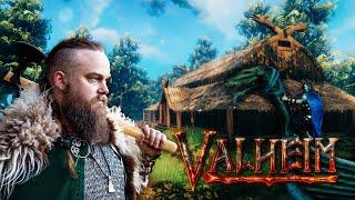 Viking guy plays Viking game - Valheim pt 1