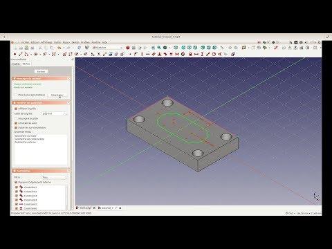 Free CAD - CAM Program: Tutorial episode #1