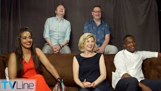 Jodie Whittaker & 'Doctor Who' Cast Interview | Comic-Con 2018 | TVLine