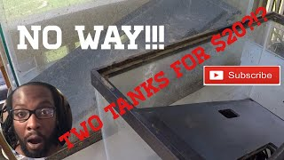 BUYING used FISH TANKS off FACEBOOK/CRAIGSLIST! DEAL of the DAY!