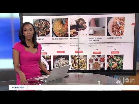 Free cooking classes offered online through April - YouTube
