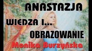 ANASTAZJA – WIEDZA I OBRAZOWANIE ŁZY MONIKI I PRZEJŚCIE PRZEZ OKNO CIEMNOŚCI- Monika Burzyńska