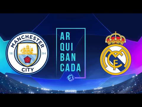 MANCHESTER CITY X REAL MADRID (NARRAÇÃO) – CHAMPIONS LEAGUE – OITAVAS DE FINAL