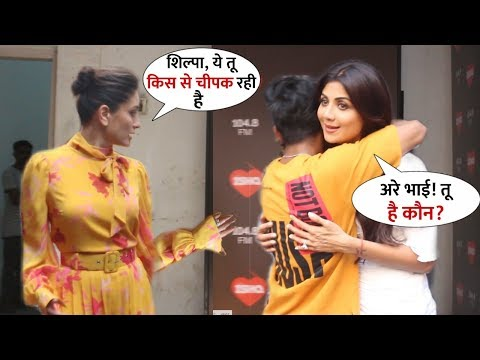 A man hugged Shilpa Shetty in front of Kareena Kapoor without Asking at 104.8 ISHQ | WWW Season 2