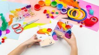 Ιδέες για εύκολες παιδικές κατασκευές από χαρτί Title