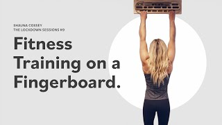 Fitness Training on a Fingerboard