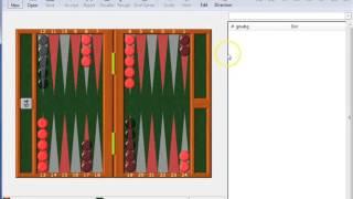 GNU Backgammon Part 1 - Install, Play, Backgammon Notation
