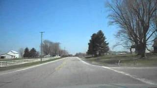 preview picture of video 'Drive to Bucyrus, Ohio and home'