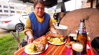 South American Food - EXOTIC DELICACY in Cusco, Peru! | Peruvian Food Tour!