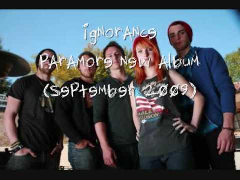 Ignorance - paramore (new album)
