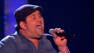 The Voice UK 2013 | Jamie Bruce Performs 'Try A Little Tenderness'   Blind Auditions 5   BBC One