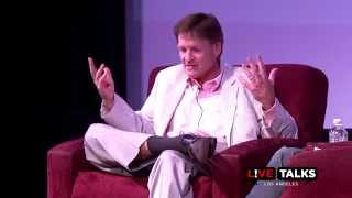Michael Lewis In Conversation With Malcolm Gladwell At Live Talks Los Angeles