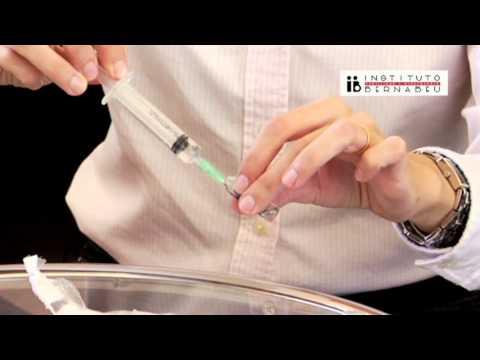 Istruzioni fostipur: preparazione e somministrazione del medicinale. Instituto Bernabeu