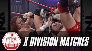 Top 5 X Division Matches | Fight Network Flashback